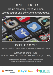 Charla Jose Luis Bimbela